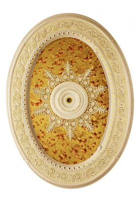 Gold Oval Saray Tavan 130x180